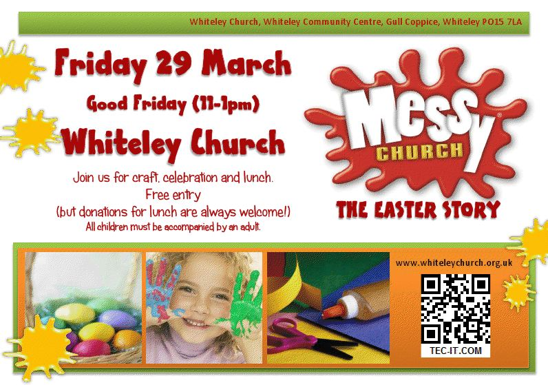 Messy Church Logo Copyright Bible Reading Fellowship © 2013